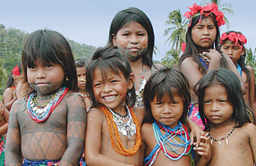 Darien Jungle - Embera children