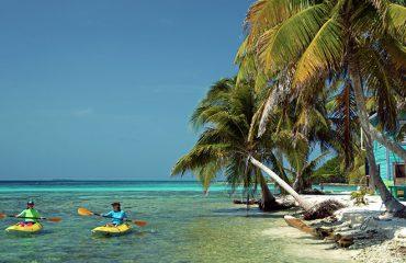 Kayaking-Laughing-Bird-Caye-Belize-Guatemala-Cruise