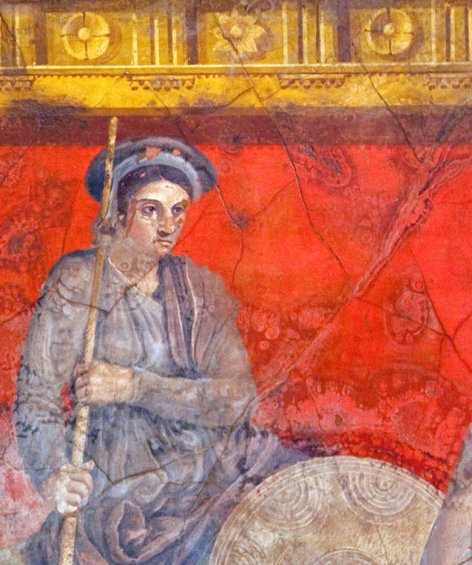 Ancient wall art-3