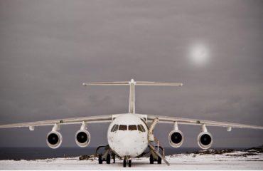 BAE146 jet