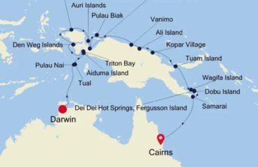 DAWRWIN-CAIRNS MAP