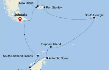 Falkland Groegia Map