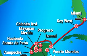 Grand-Mayan-Experience Route Map