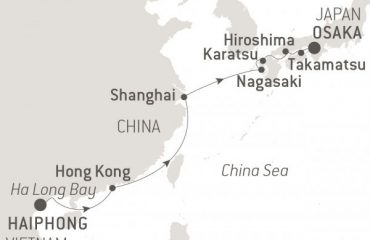 MAP = Haiphpong-Osaka