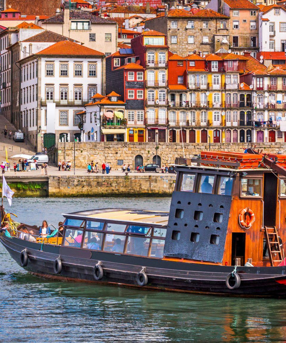 Porto, Portugal Skyline
