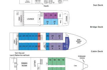 Safari Voyager Deck Plan
