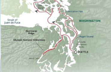 San Juan Hood Canal Map
