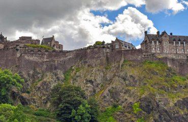 scotland-Edinburgh Castle