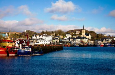 Killybegs Port in County Donegal Ireland