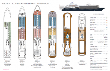 SILVER CLOUD EXPEDITION DECK PLAN