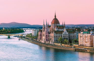 BUDAPEST, HUNGARY - THE PARLIAMENT BUILDING