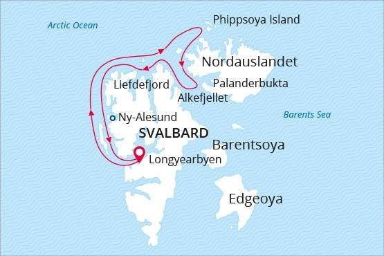 West Spitsbergen & Polar Ice Edge - Explor Cruises