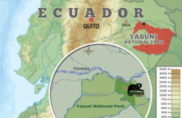 Napo Wildlife Center Location