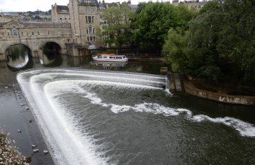 River Avon falls - Bath