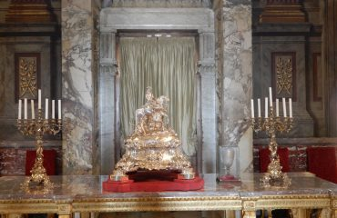 Silver Turine and Candelabra - Blenheim Palace