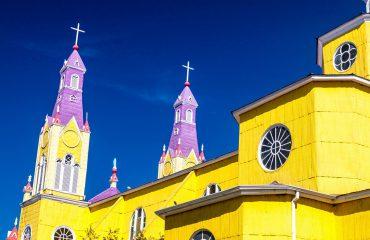 Castro Chiloe Island Chile - San Francisco Church