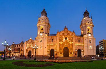 The Basilica Cathedral of Lima-Peru