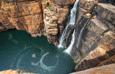 Australia-King George River Waterfall