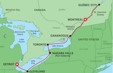 Montreal to Detroit